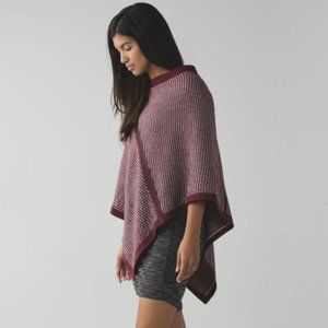 Lululemon On The Go Scarf Butter Pink / Bordeaux Drama / Wine Berry